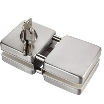 国强五金 MS304玻璃门锁