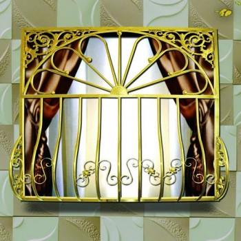 布雷尔利 钛金防护窗· 欧尚HC-OS-001