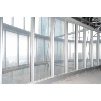 金刚 防火玻璃幕墙钢铝型材系统-明框钢铝幕墙