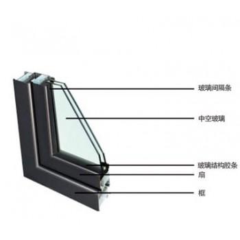 6+12+6(密封胶)中空钢化玻璃