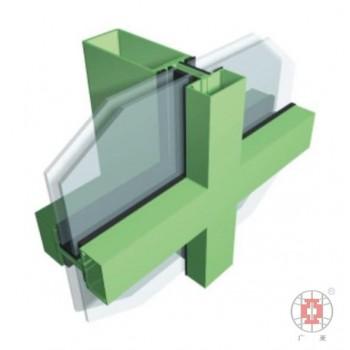 广亚铝材 铝合金玻璃幕墙